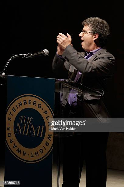 Todd London speaks at The 2011 Steinberg Playwright Mimi Awards presented by The Harold and Mimi Steinberg Charitable Trust at Lincoln Center Theater...