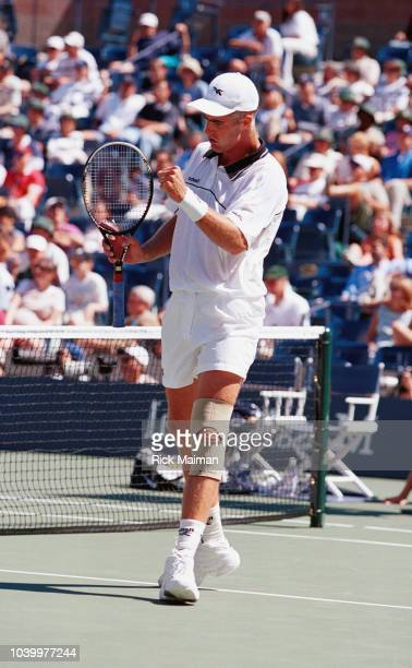 Todd Martin during the match he won against French player Cedric Pioline