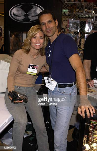 Todd McFarlane and wife Wanda during 2002 San Diego Comic Con International - Day Two at San Diego Convention Center in San Diego, California, United...