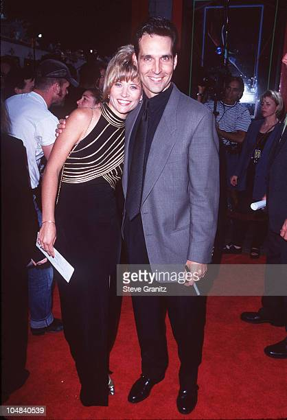 Todd McFarlane Wife during Spawn Los Angeles Premiere at Mann Chinese Theatre in Los Angeles California United States