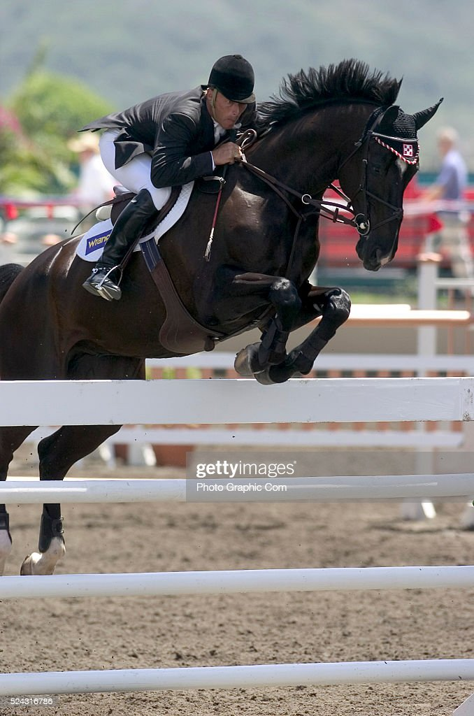 Equestrian 2004 - Olympic Show Jumping Trials : News Photo