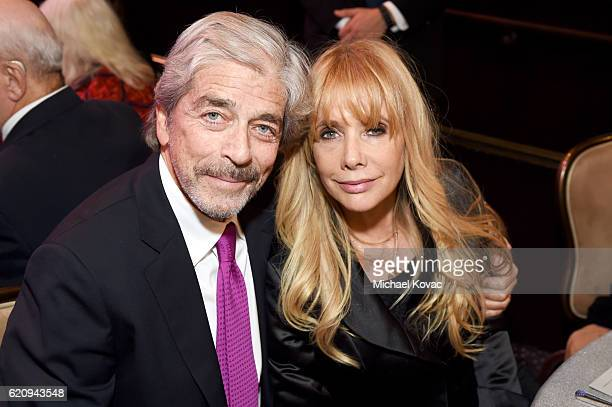 Todd Morgan and actress Rosanna Arquette attend Friends Of The Israel Defense Forces Western Region Gala at The Beverly Hilton Hotel on November 3...