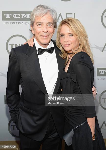 Todd Morgan and actress Rosanna Arquette attend the 2014 AFI Life Achievement Award A Tribute to Jane Fonda at the Dolby Theatre on June 5 2014 in...