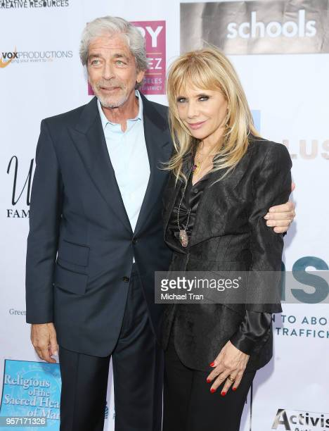 Todd Morgan and Rosanna Arquette attend the Coalition to Abolish Slavery and Trafficking's 20th Annual From Slavery To Freedom Gala held at City...