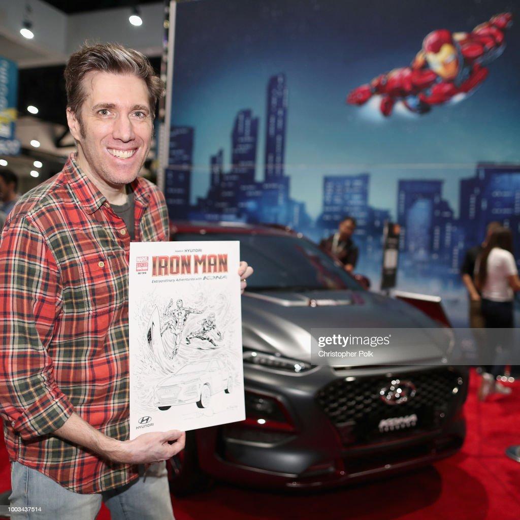 Hyundai Kona Iron Man at San Diego Comic-Con 2018 - Day 3