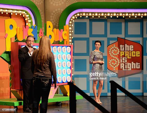 Todd Newton hosts 'The Price is Right' Live at The Sandler Center for the Performing Arts on April 23 2015 in Virginia Beach Virginia