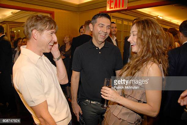 Todd Oldham Tony Longoria and Kelly Wearstler attend KELLY WEARSTLER Boutique Opening hosted by LINDA FARGO and WENDY GOODMAN at NYC on October 21...