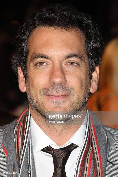 Todd Philips arrives at the European premiere of 'Due Date' at Empire Leicester Square on November 3 2010 in London England