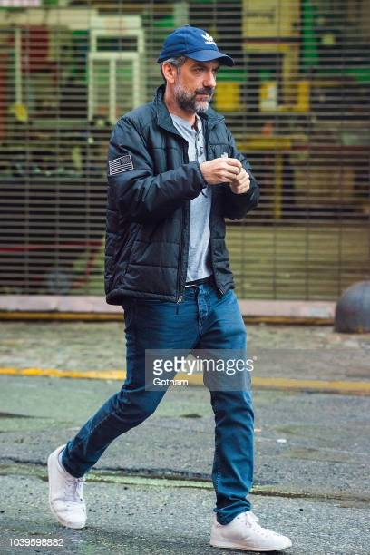 Todd Phillips is seen filming a scene for 'Joker' in Brooklyn on September 24 2018 in New York City