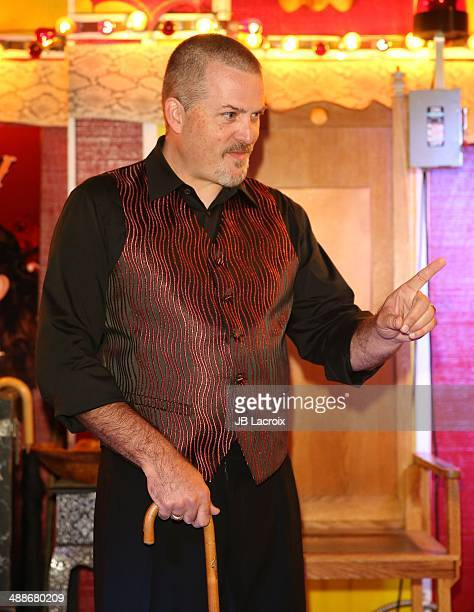 Todd Ray attends the AMC's 'Freakshow' cast meet and greet on May 7 2014 in Venice California