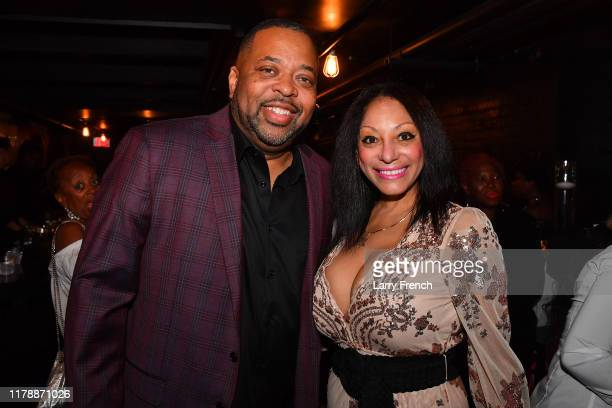 Todd Rogers of Logical Technology and Research and Chef Deme are seen at Jamie Foster Brown's Sister2Sister DC Launch and MsGrandiosity's birthday...