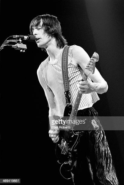 Todd Rundgren performing with Utopia at Nassau Coliseum in Uniondale, Long Island, NY on June 7, 1980.