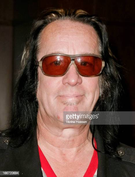 Todd Rundgren signs copies of his new CD 'State' at Barnes & Noble bookstore at The Grove on April 15, 2013 in Los Angeles, California.