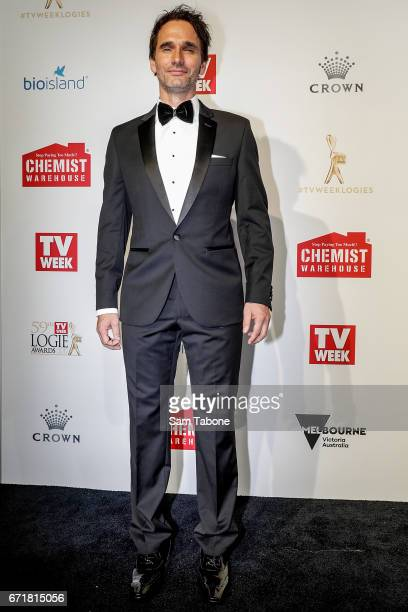 Todd Sampson arrives at the 59th Annual Logie Awards at Crown Palladium on April 23 2017 in Melbourne Australia