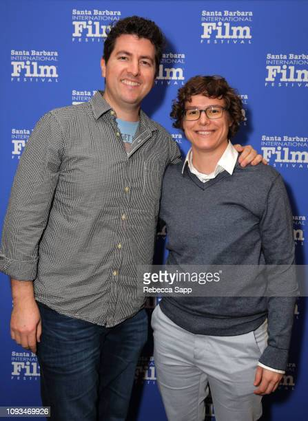 Todd Sandler and Becca Nelson attend the Live Action Shorts Presentation during the 34th Santa Barbara International Film Festival at the Fiesta...