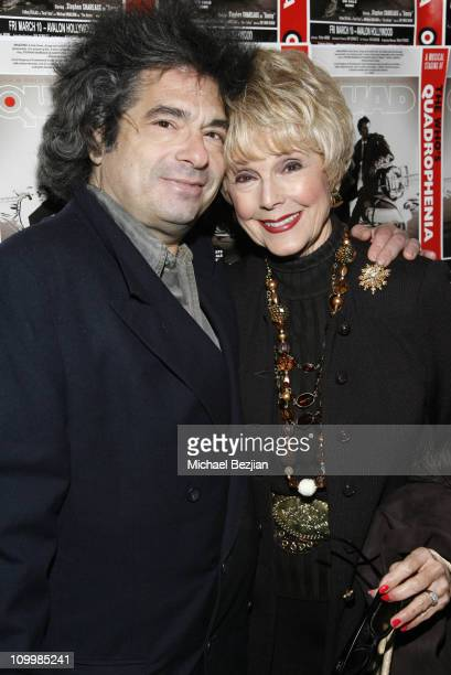 Todd Schwartz and Karen Sharp Kramer during Quadrophenia Musical Theatre Performance at The Avalon in Hollywood California United States