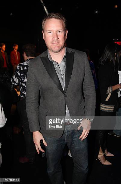 Todd Snyder attends the Todd Snyder presentation during Spring 2014 MercedesBenz Fashion Week>> at The Box at Lincoln Center on September 6 2013 in...