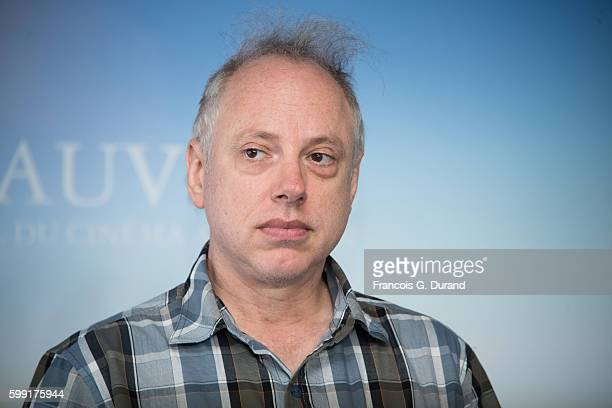 Todd Solondz poses at a photocall during the 42nd Deauville American Film Festival on September 4 2016 in Deauville France