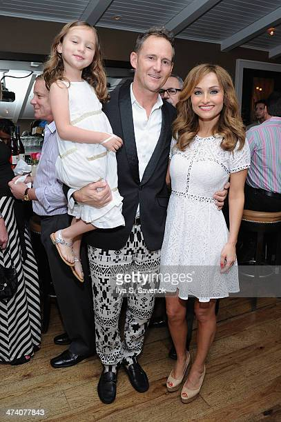 Todd Thompson and Giada De Laurentiis attend Italian in Paradise dinner hosted by Giada De Laurentiis during the Food Network South Beach Wine Food...