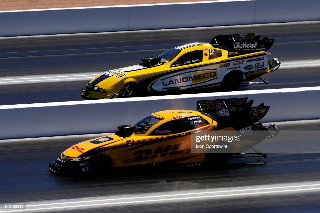 Jr Todd Toyota Camry Nhra Funny Car And Jonnie Lindberg Toyota Camry