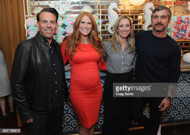 Todd Wandell Katie Townsend Kimberly House and Douglas Friedman attend the Launch Celebration of the Pottery Barn Pottery Barn Kids PBteen and Lilly...