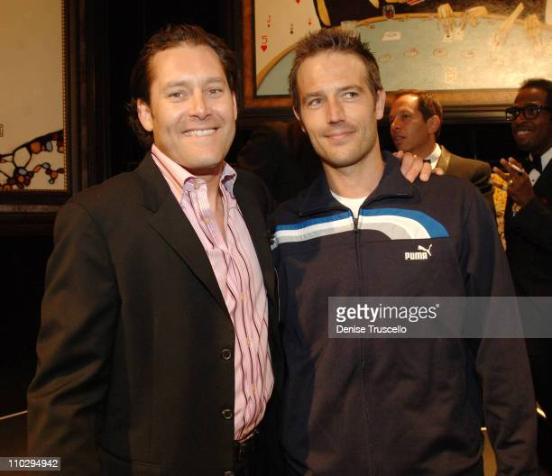 Todd White and Michael Vartan during Unveiling of Pechanga Casino's Art Collection Featuring Artist Todd White at Pechanga Casino in Temecula...