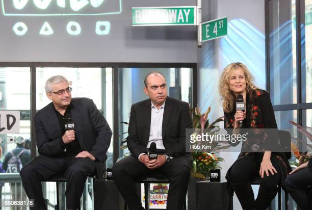 Todd Wider Jedd Wider and Lori Singer discuss God Knows Where I Am during the Build Series at Build Studio on March 30 2017 in New York City