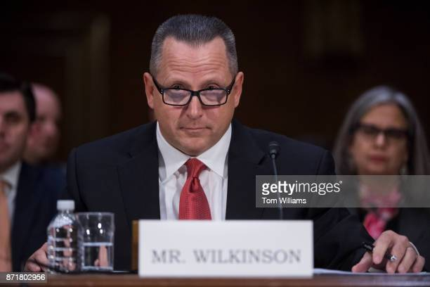 Todd Wilkinson CEO of Entrust Datacard testifies during a Senate Commerce Science and Transportation Committee hearing titled 'Protecting Consumers...