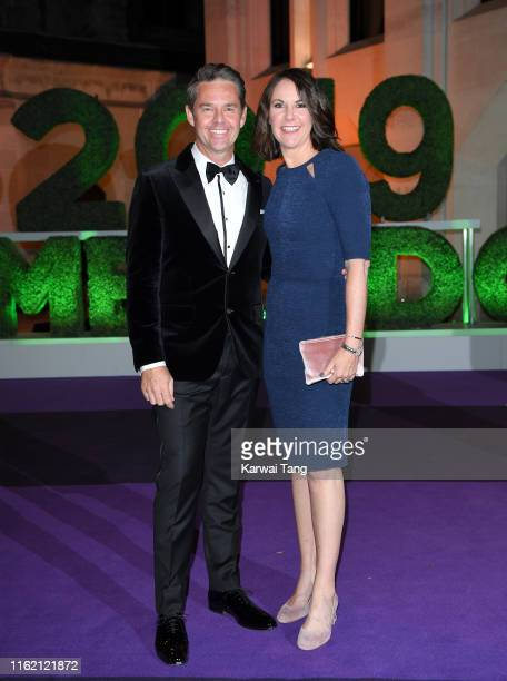 Todd Woodbridge attends the Wimbledon Champions Dinner at The Guildhall on July 14 2019 in London England