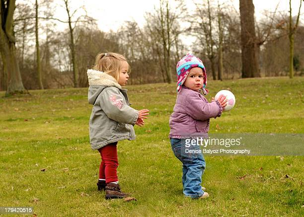 Toddle Girls play Football