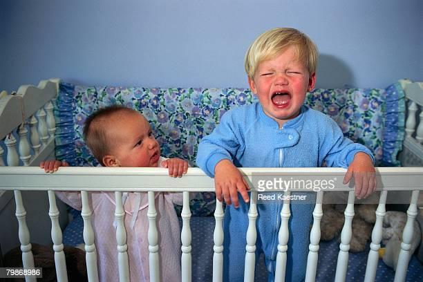 Toddler Crying in Crib