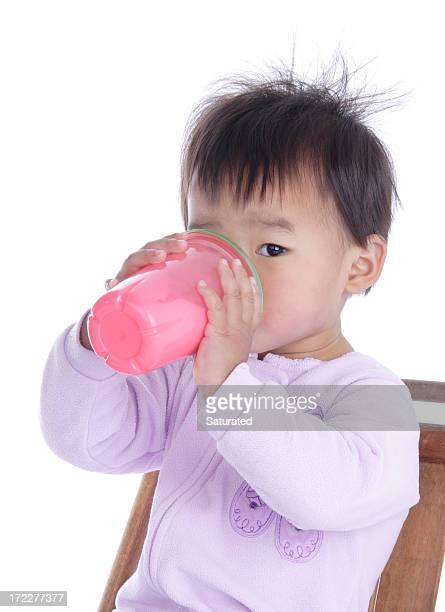 Toddler Drinking Milk