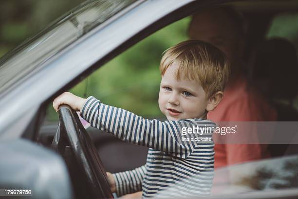 Toddler driving