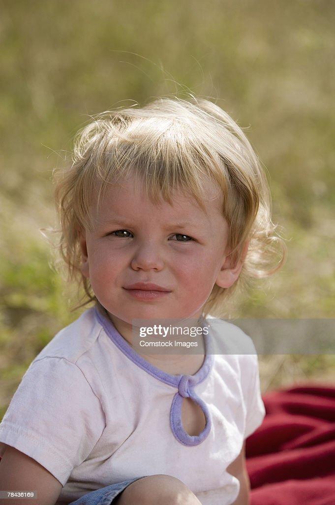 Toddler girl : Stockfoto