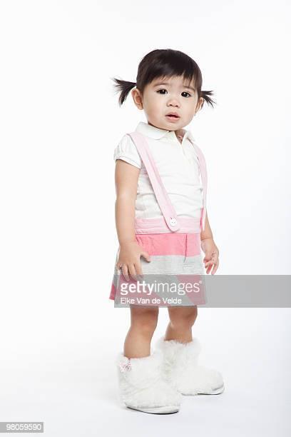 toddler girl - 1歳以上2歳未満 ストックフォトと画像