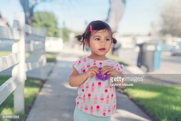 Toddler Girl - LA Sidewalk Scene