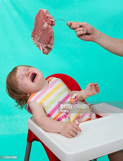 Toddler rejecting meat