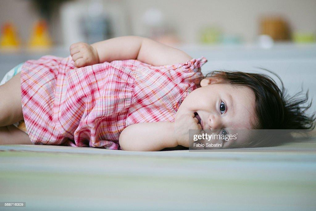 Toddler smiling : Stock Photo