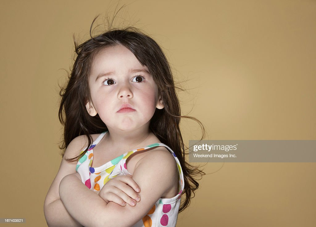 Toddler's emotions : Stock Photo