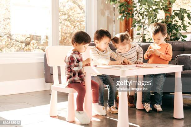 Toddlers learning together