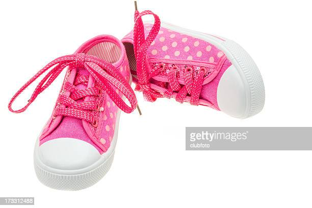 Toddlers pink shoes