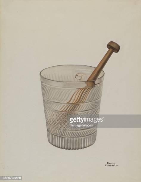 Toddy Glass, 1935/1942. Artist Beverly Chichester.