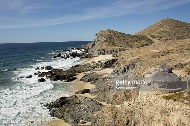 todos santos, cerritos beach. - todos santos mexico fotografías e imágenes de stock
