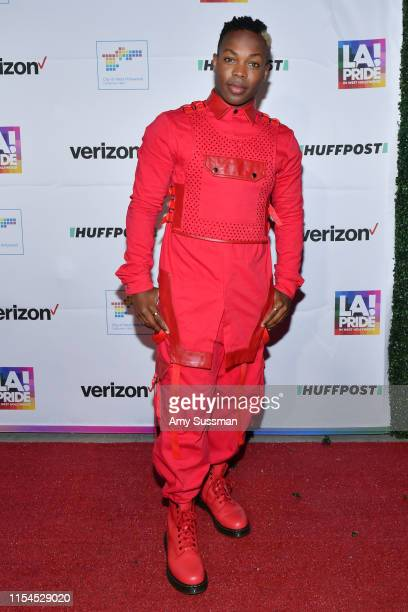 Todrick Hall attends the opening ceremony at LA Pride 2019 on June 07, 2019 in West Hollywood, California.