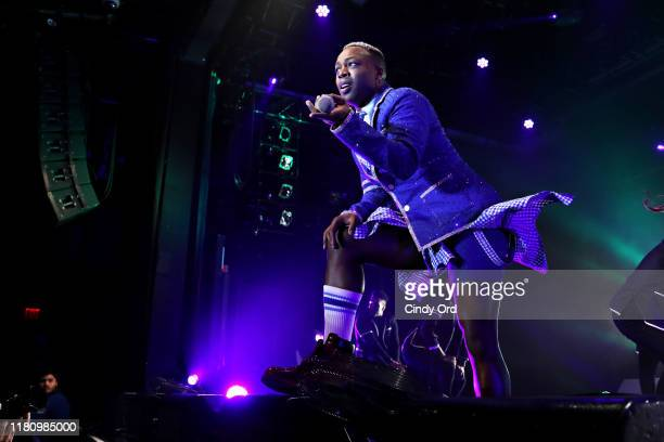 Todrick Hall performs at PlayStation Theater on November 8 2019 in New York City