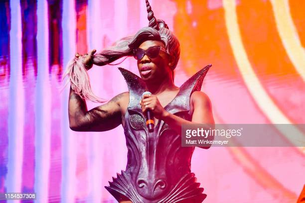 Todrick Hall performs during LA Pride 2019 on June 07, 2019 in West Hollywood, California.