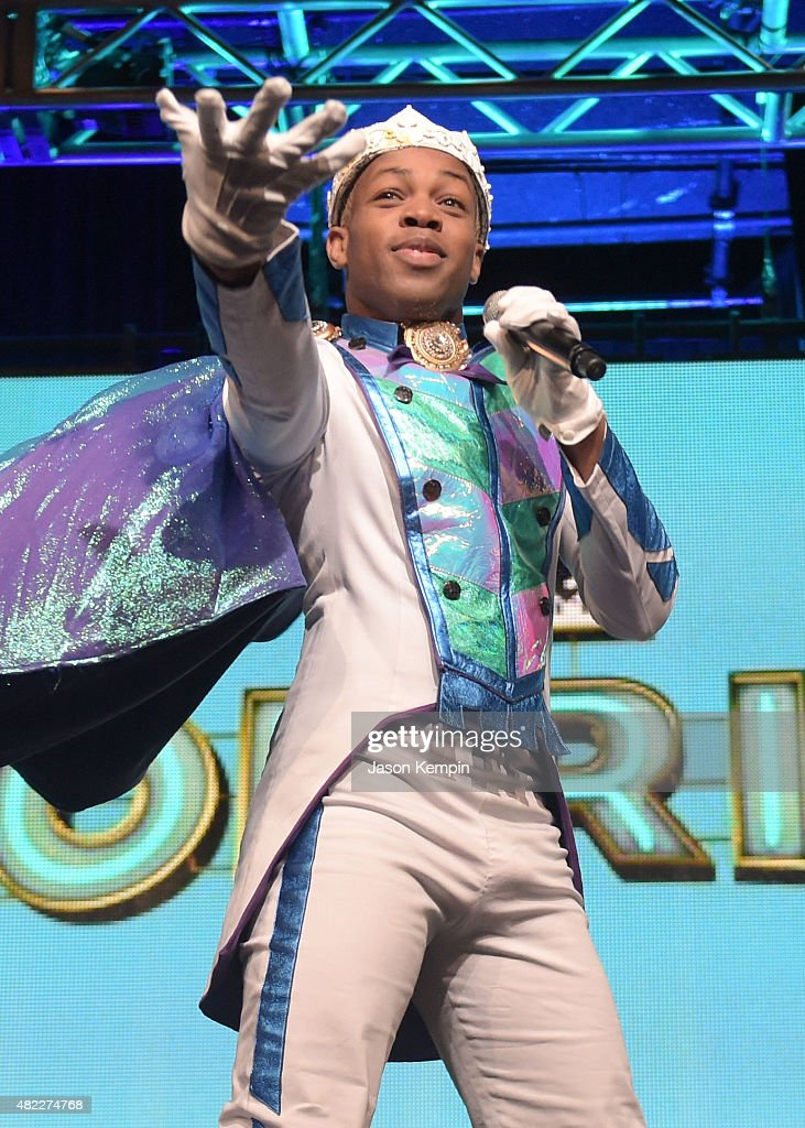 Todrick Hall performs onstage during the Viacom TCA Presentation at The Beverly Hilton Hotel on July 29, 2015 in Beverly Hills, California.