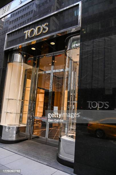 Tod's is closed during the COVID-19 pandemic on May 20, 2020 in New York City. COVID-19 has spread to most countries around the world, claiming over...