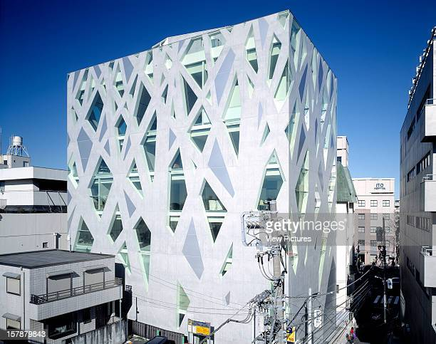 Tods Store, Tokyo, Japan, Architect Toyo Ito Tods Store Overall View .