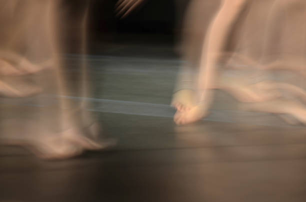 "Toes in a blur-from my series ""Blurred World"